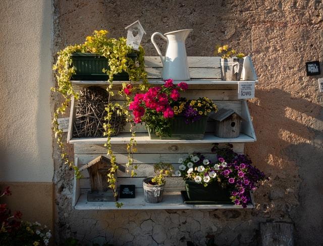 Styl prowansalski to przede wszystkim kwiaty.