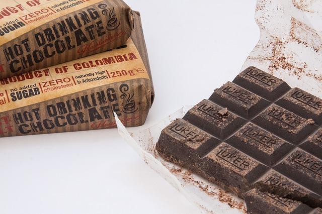 Gorzka czekolada to świetne źródło przeciwutleniaczy.